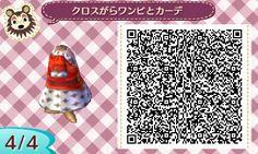 クロスがらワンピと赤カーデ (4)