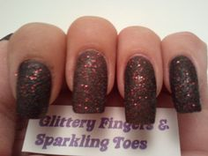 Glittery Fingers & Sparkling Toes: Review: OPI Stay the Night Liquid Sand