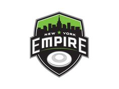 Ultimate frisbee - New York Empire logo. Empire New York, Empire Logo, Soccer Logo, Ultimate Frisbee, Vintage Logo Design, Logo Sticker, Graphic Design Inspiration, Logo Branding, Luxury Branding