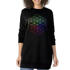 Women A Head Full Of Dreams Coldplay Oneck Long Sweatshirt ** Find out more about the great product at the image link.(This is an Amazon affiliate link)