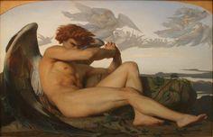 Znalezione obrazy dla zapytania Cabanel Alexandre of Fallen Angel