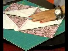 Tutorial de Quilting 3 Bloque de Cuadrados Intercalados (Disappearing Blocks) - YouTube