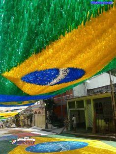 Rua em Manaus- Copa 2014- Brasil