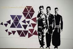 Las pintadas revolucionarias de la Universidad Nacional de Bogotá, en Colombia.....