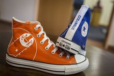 Converse will custom make an All Star with a design commemorating Columbus Indiana where native Chuck Taylor graduated from Columbus High School in 1919.