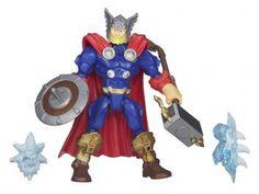 Boneco Thor Marvel Super Hero Mashers - com Acessórios Hasbro