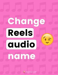 """Do you post Reels with your own audio or music? Don't want to see """"Original Audio"""" at the bottom of your Reels? Good news: you can change it. Check out why you should change it, and how to do so! #instagramtips #instagramstrategy #instagrammarketing #socialmedia #socialmediatips List Of Hashtags, How To Use Hashtags, Creative Instagram Stories, Instagram Story Ideas, Best Time To Post, Instagram Marketing Tips, Instagram Bio, Get To Know Me, Social Media Tips"""