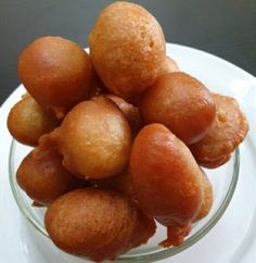 Puff puff without yeast Nigerian Food, Doughnut, Recipes, Rezepte, Food Recipes, Recipies, Recipe, Cooking Recipes