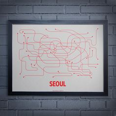 Best Public Transport in the World.  I would bet money on that.  WANT this print.