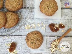 Cookies con fiocchi d'avena e albicocche secche - ricetta biscotti