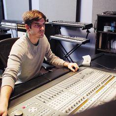 Studio owner Andrew Krivonos at Brewery Studios