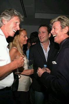 Roger Waters & David Bowie