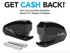 Earn up to a $100 Visa Gift Card when you purchase Swingline Speed Pro Staplers & Staples #rebate