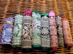 ribbonsandsilk Vintage Sari Borders, Sari Ribbon, Sari Trim, Embroidery Trim, D9