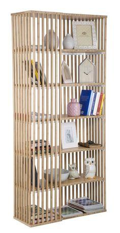 #MauroFerrettiSrl 1417220000 LIBERIA BAMBOO TOKYO CM 84,5X34,5X180,6 #mauroferrettisrl #home #homedecor #decor #casa #arredo #arredamento #decorazione #libreria #tokyo #bamboo #natural #wood #bamboowood #elegant #strong #newitem #newlook #italiansdoitbetter