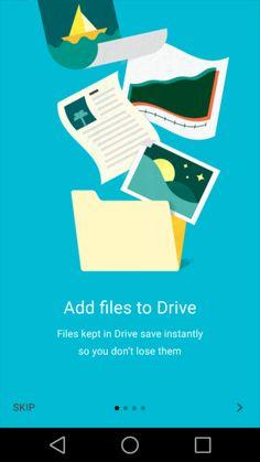 Google Material Design: Drive: Tutorial / ?