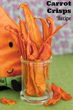 Carrot Crisps Recipe