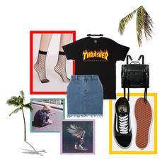 """Z-Girl"" by marcelinakudranska on Polyvore featuring Vans, Zephyr, Diane Kordas, Dorothy Perkins i McQ by Alexander McQueen"