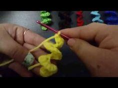 Tutorial Crochet Básico😉 Rizos, Espirales o rulos en UNA SOLA CADENA DE INICIO/How to LOOPS Easy - YouTube Octopus Crochet Pattern, Knitted Mittens Pattern, Crochet Snowflake Pattern, Crochet Turtle, Hairpin Lace Crochet, Easy Crochet Hat, Crochet Eyes, Crochet Baby Cocoon, Japanese Crochet Patterns