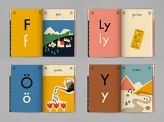 Ábécés könyv by Cyprus-based graphic designer Anna Kövecses is a children's book illustrating the 44 letters of the Hungarian alphabet.