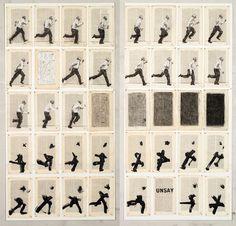 William Kentridge Galleria Lia Rumma, Napoli ~ ♥ the best Illustrations, Illustration Art, Art Postal, South African Artists, Bd Comics, Gcse Art, Sketchbook Inspiration, Stop Motion, Art Plastique