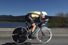 #AMGENTOC George Bennett of New Zealand and Team LottoNL-Jumbo in action during stage 6 of the AMGEN Tour of California, a 14.9 mile individual time trial around Big Bear Lake on May 19, 2017 in Big Bear Lake, California.
