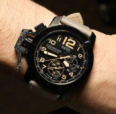 Graham Chronofighter Sahara Watch Review