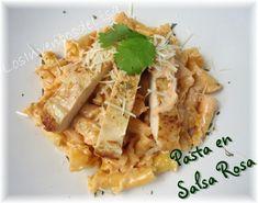 Los Inventos de Lisa: Pasta en Salsa Rosa