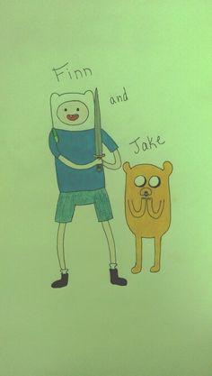 Finn and Jake fan art - Adventure Time