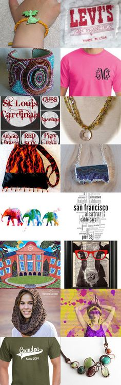 As random as it gets! by Nancy Goldstein on Etsy--Pinned with TreasuryPin.com  #septemberfinds
