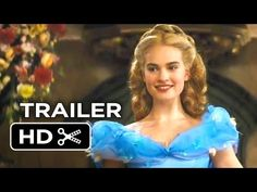 Cinderella Official Trailer #1 (2015) - After Maleficent, I admit I find it very comforting to see that this looks like it is going to be more faithful to the original Disney movie. The costumes look amazing, too :)