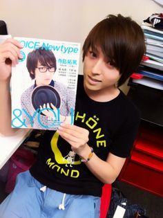 Aoi Shouta and takuma terashima magazine