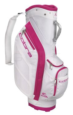 Women's Cobra white/pink golf bag, $127