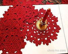 15. desember - heklet brikkesett - Fra kosekroken - Chris-Ho.com Crochet Earrings, Jewelry, Design, Threading, Jewlery, Jewerly, Schmuck, Jewels