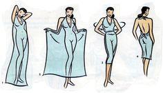 DIY comment s'habiller en paréo                                                                                                                                                      Plus