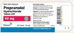 Generic Name: Propranolol Popular Brands: Inderal Availability: In Stock Valid for: Years &nb. Ischemic Heart Disease, Cardiovascular Health