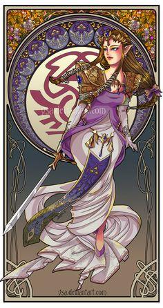 Zelda by Ysa.deviantart.com on @deviantART