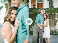 MIKE + EMILY'S DOWNTOWN CHARLESTON ENGAGEMENT » Aaron and Jillian Photography