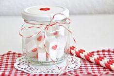 Muttertagsgeschenk - Herzzuckerwürfel