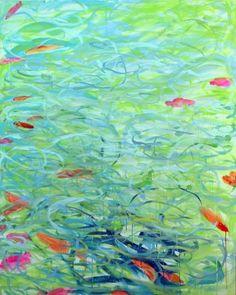 Sun Day II by Karin Lowney-seed, Painting - Acrylic | Zatista