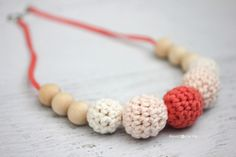 Repeat Crafter Me: Crochet Nursing Necklace