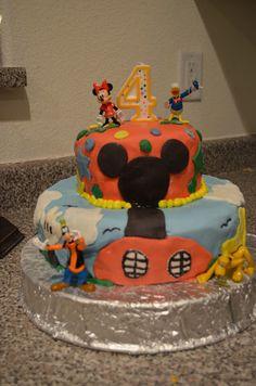 mickey mouse cake mi