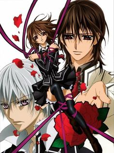 Vampire Knight OKAY did anyone else get some mixed emotions about Yuki going with Kaname but the still look good together but are brother and sister but she left Zero there I just don't know who to ship here with