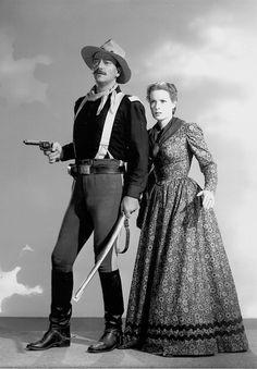 1950 - Río Grande - Rio Grande - John Wayne, Maureen O'Hara,