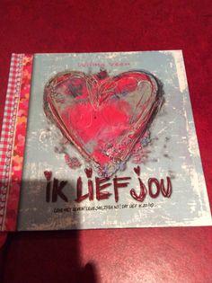 Lief boek. #liefcadeau #rood
