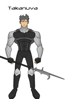 """Humanized Takanuva in his """"Toa of Twilight""""  state"""