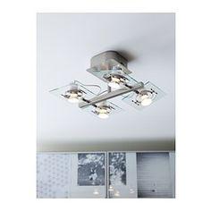 FUGA Oświetlenie sufitowe/4 reflektory - - IKEA
