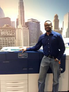 Macaulay Chilaka, '14 Graphic Communications Major, Religion Minor, Chicago, IL  Sales Support Specialist-Fujifilm Graphic Systems-Chicago Technology Center