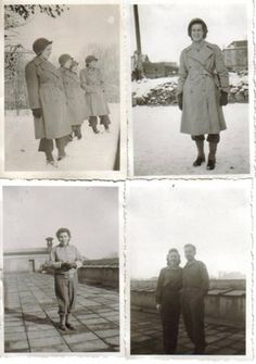 Photos from Army Nurses during the Battle of the Bulge, 1944-1945. One of them must be Ruth Barnes McAllister, member of the Army Nursing Corps. 106th Evacuation Hospital that followed General George Smith Patton's Third United States Army on a battle path through World War II's European Theater ~