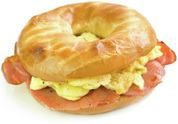 Breakfast is the most important meal of the day! Make it a wonderful morning with our Farmer's Bagel breakfast sandwich!  Come to Bagels and Bites Cafe in Brighton, MI for all of your bagel and coffee needs! Feel free to call (810) 220-2333 or visit our website www.bagelsandbites.com for more information!